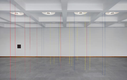 Fred Sandback: Light, Space, Facts Exhibition