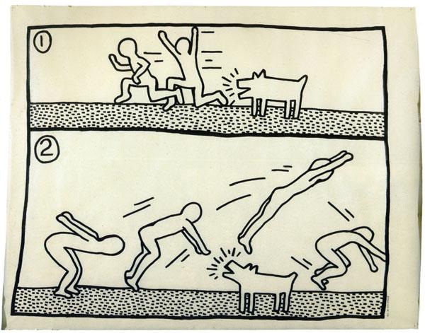 Untitled (1&2 Dog Jumping Feb. 3)