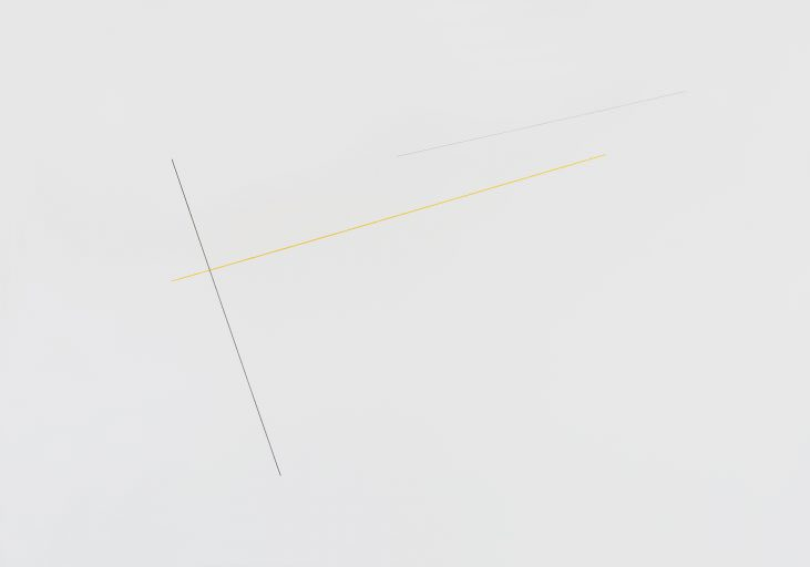 Untitled (Sculptural Study, Isometric Wall Construction)