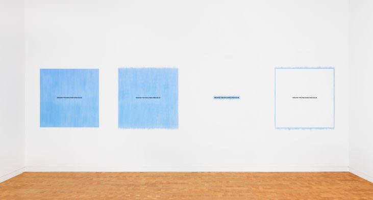 Imagine the Enclosed Area Blue (1-4)