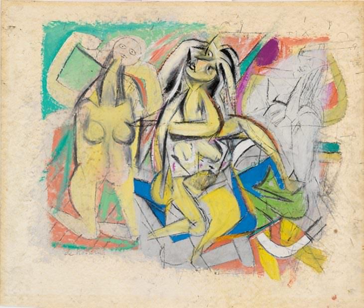 Untitled </i> (Three Figures)