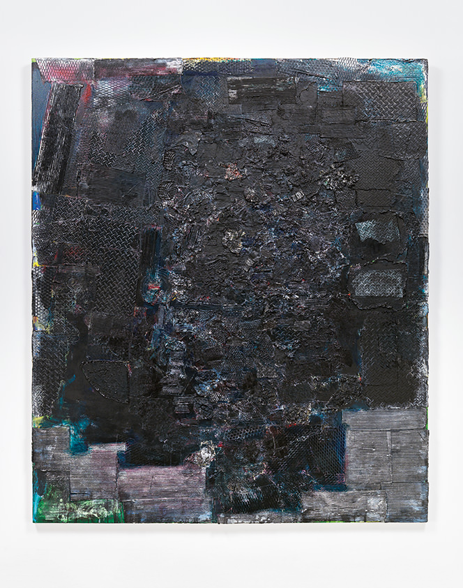 Black Monolith I, A Tribute to James Baldwin