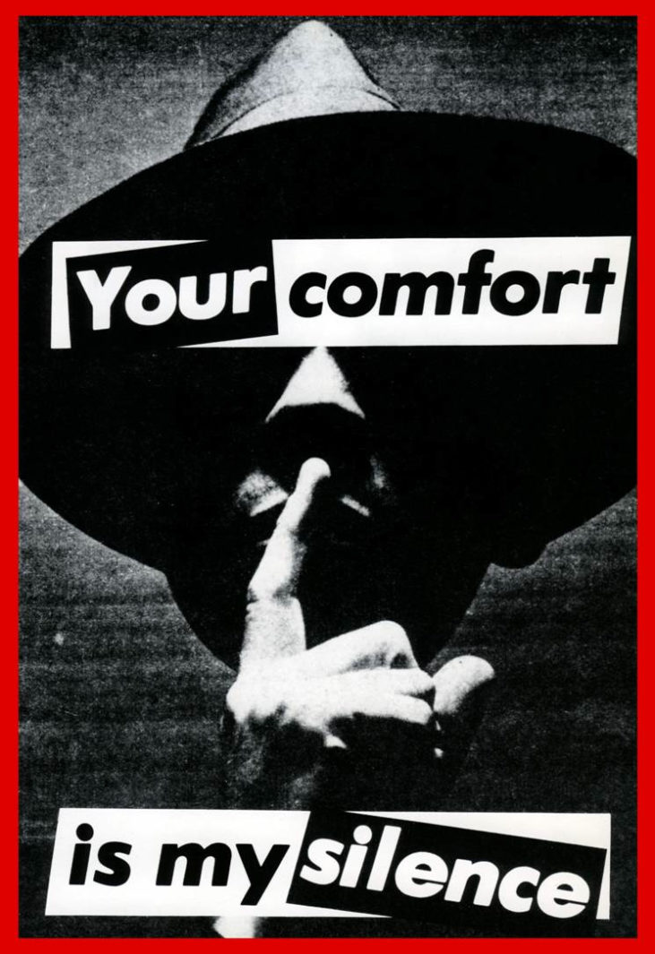 Untitled (Your comfort is my silence)