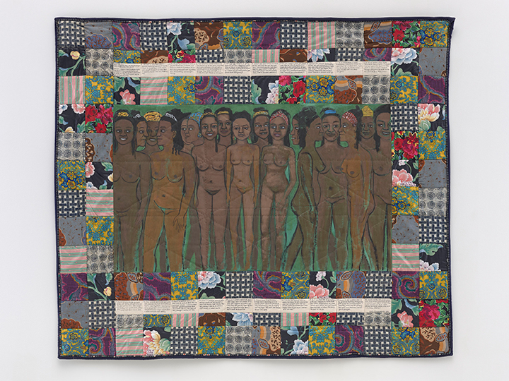 Change 3: Faith Ringgold's Over 100 Pound Weight Loss Performance Story Quilt