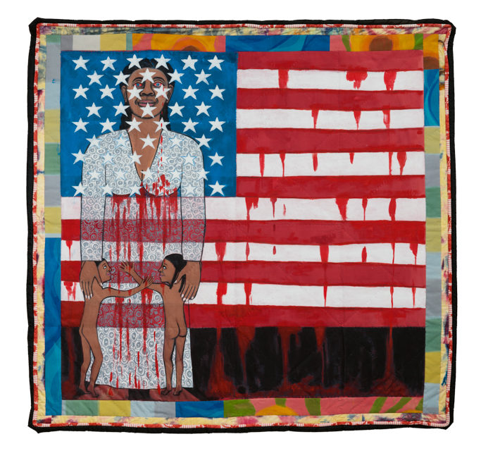 The Flag is Bleeding #2 (American Collection #6)